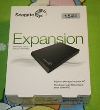 "BRAND NEW Seagate 1.5TB USB 3.0 2.5"" Portable External Hard Drive STBX1500401"