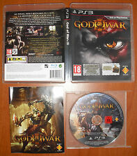 "God of War III (portada Edición Especial ""Troya""), PlayStation 3 PS3, Pal-España"