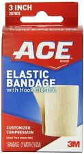 ACE Elastic Bandage with Hook Closure, 3 Inch Each