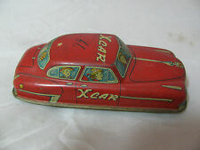 VINTAGE XCAR MYSTERY FRICTION TIN CAR MADE in JAPAN