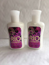 Bath & Body Works RARE RIO RUMBERRY  Body Lotion 88 mL  2 PACK