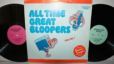 Kermit Shafer - All Time Great Bloopers Volume 1 - Brookville Records - LP vinyl