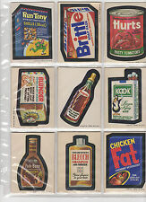1973 Topps Wacky Packages 2nd Series 2 Complete White Back WB Set 33/33 EX+