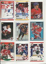 Lot of 1000 (One Thousand) Sylvain Turgeon Hockey Card Collection Mint
