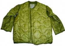 Mint Medium Field Jacket Parka Liner U.S. Military Surplus M-65 Quilted Button