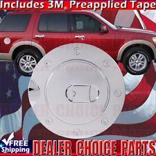 2002-2010 FORD EXPLORER MERCURY MOUNTAINEER Chrome Gas Door Cover Cap 4 Door