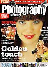 Photography Monthly Magazine  with  SIGMA  lenses  group test   November   2007