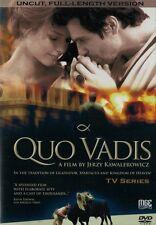QUO VADIS (DVD)  2001 TV Series  NTSC  Jerzy Kawalerowicz   POLSKI  POLISH