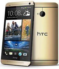 "HTC One M7 Unlocked 4.7"" Quad-core Android OS Smart Phone 32GB 4MP Gold"