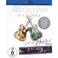 "STATUS QUO ""LIVE AT MONTREUX 2009"" BLU RAY NEU"