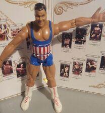 Kurt Angle WWE WWF Jakks Pacific Wrestling Figur 2002 r/w/b