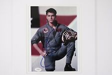 TOM Cruise Movie TOP GUN Signed Autographed 8x10 Photo JSA COA