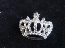 DIAMONTE CROWN BROOCH - lots of sparkles