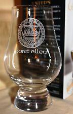 PORT ELLEN ISLAY CREST GLENCAIRN SCOTCH WHISKY TASTING GLASS