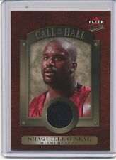 2007-08 FLEER ULTRA SHAQUILLE O'NEAL GAME-USED MATERIAL