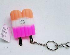 Bath Body Works PINK POPSICLE Light Up Pocketbac Holder Clip Case Sanitizer