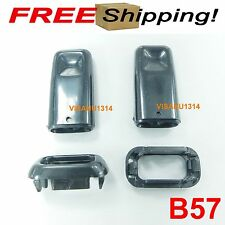 2X DOOR LOCK KNOB BLACK FIT FOR TOYOTA COROLLA KE30 KE70