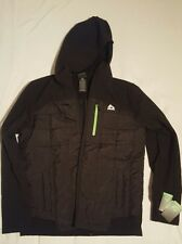 Reebok Men's Active Insulated Soft Shell Jacket With Hoodie (Retail $140)