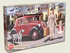 Escala 1/35 Italiano Luz civil coche (Hard Top) con Lady Y Perro
