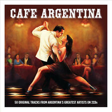 Cafe Argentina VARIOUS ARTISTS 50 Songs TANGO Best Music Collection NEW 2 CD