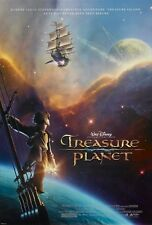 Walt Disney's TREASURE PLANET movie poster  : 11 x 17 inches