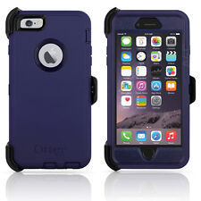 "OtterBox Defender iPhone 6 Plus/6S Plus 5.5"" Case & Holster Admiral Blue OEM New"