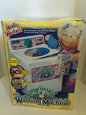 New Vintage Cabbage Patch Kids Real Washing Machine Battery Operated For Dolls