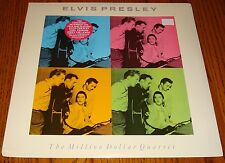 ELVIS PRESLEY THE MILLION DOLLAR QUARTET LP WITH HYPE STICKER STILL SEALED 1990