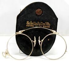 Antique 19th Century Eye Glasses Lorgnette Spectacles 14k White Gold