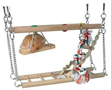 NEW Trixie Hamster Cage Hanging 2 Storey Suspension Bridge Toy - 6273