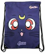 *NEW* Sailor Moon Luna Drawstring Bag