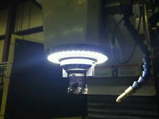 VISION 4.0 LED RING LIGHT CNC MILL MAGNETIC HOOK SWITCH HAAS MAZAK MILLTRONICS