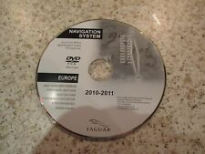JAGUAR 2010-2011 SAT NAV DISC SATELLITE NAVIGATION DVD ROM FREE POSTAGE EUROPE