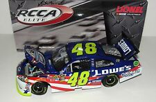 "2011 Jimmie Johnson #48 Lowe's Summer Salute 1/24 Scale ""ELITE"" Diecast"