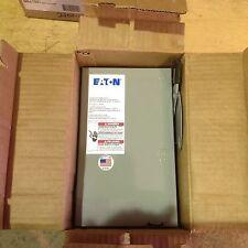EATON DG321UGB 30 AMP 240 VOLT 3 POLE NEMA 1 DISCONNECT NON FUSIBLE