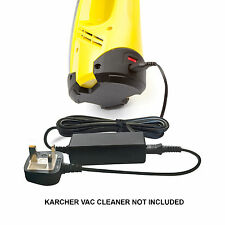 Window Cleaner Vac Vacuum Battery Charger Power Lead Supply for Karcher WV50