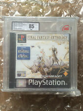Fabbrica SIGILLATA FINAL FANTASY ANTHOLOGY PER PLAYSTATION 1 UKG / VGA livellata 85 PS1