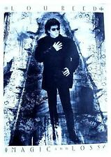 "LOU REED  POSTER  ""MAGIC & LOSS"""