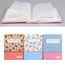4R 6-Inch 100-Pocket Picture Album Case Photo Storage Baby Wedding Family Memo