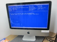 "Apple iMac 20"" A1224 Core 2 Duo E8135 2.4GHz 2GB 250GB vertical shadows !"