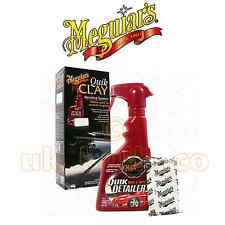 MEGUIARS QUIK CLAY STARTER KIT CLAY BAR QUICK DETAILER