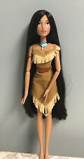 "Disney Store POCAHONTAS 17"" Singing doll Colors of the Wind Princess Native"
