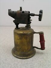 Kerosene Blow Torch Vintage Antique Brass Steampunk Colletable Blowtorch Lighter