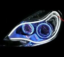 universal 2 x Flexible Audi Style Neon White Tube DRL LIGHT for All Cars
