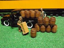 O scale whiskey barrels set of 20 barrels O scale also g scale train cargo