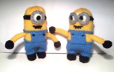 MINION STYLE TOYS, EASY KNITTING PATTERN STOCKING FILLER, CHILD SAFE
