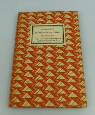 Insel Bücherei: Inselbuch Nr.295 Die Matrosen von Cattaro Friedrich Wolf bu0524