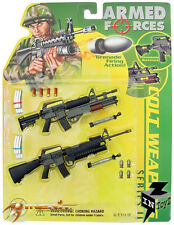 "InToyz Armed Forces 1/6 Scale Colt Weapons Set Series II for 12"" Action Figure"