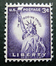 Sc # 1035 ~ 3 cent Liberty Issue, Statue of Liberty