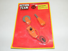 ACTION TEAM MAN JOE - SUPER TORNADO MAGNA TOOL MOC ´70